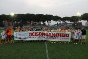 IL CALCIO FEMMINILE ITALIANO CONTRO LA VIOLENZA SULLEDONNE
