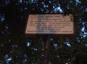 M5S SNOBBA CERIMONIA RASTRELLAMENTO NAZISTAQUADRARO