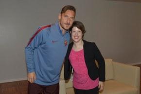 Grazie Totti, Capitano sportivo e dell'impegno sociale