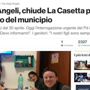 LA CASETTA NON RIAPRE. #ANTIWELFAREA5STELLE COLPISCEANCORA