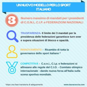 Trasparente, qualificato e competitivo. Un nuovo modello per lo sportitaliano.
